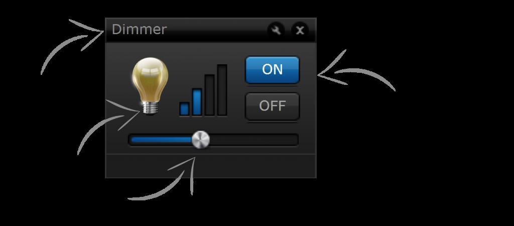 Le module fibaro dimmer 2 permet de faire varier l'intensité lumineuse d'un éclairage traditionel.