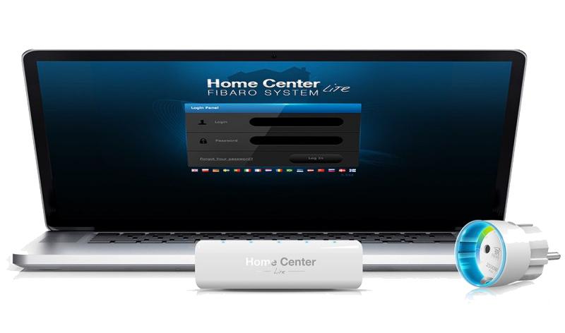Installateur Fibaro Belgique contrôleur domotique smart home Home Center Lite